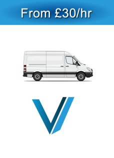 Small Transit Van and Man hire
